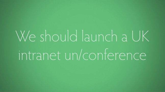 Intranet Now un/conference